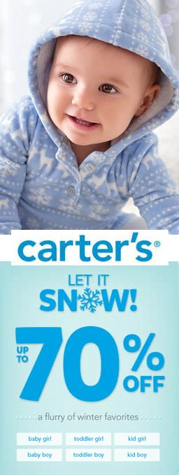 CARTER'S UP TO 70% OFF
