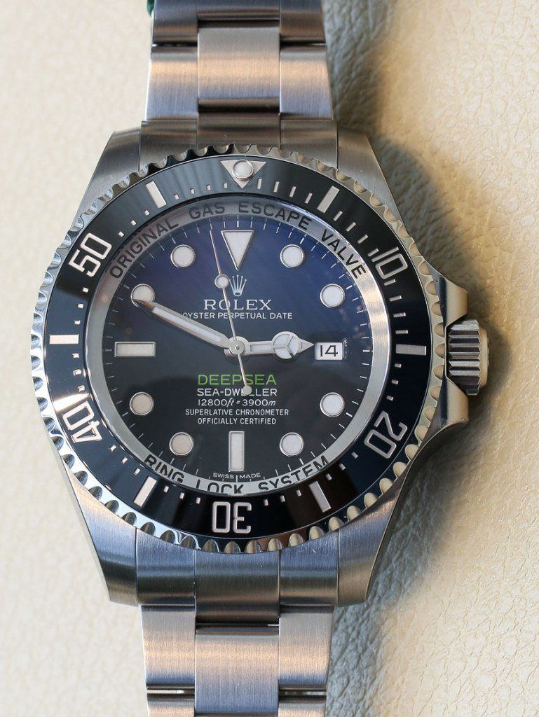 548ceb5bd8c Rolex Deepsea Sea-Dweller D-Blue Watch For James Cameron Hands-On Hands-On