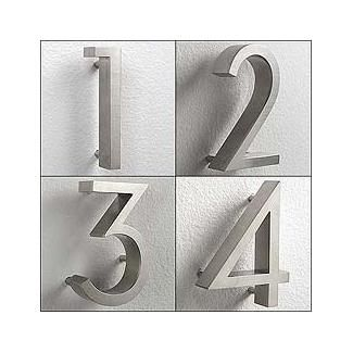 Neutra House Numbers House Numbers Metal House Numbers Solar
