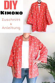 DIY – Kimono nähen nach Videoanleitung – Mondgöttin  #nähen #diy #kimono #sew…