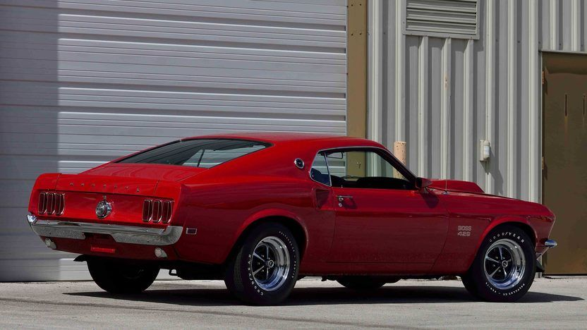 1969 Ford Mustang Boss 429 In Candy Apple Red Kk 1333