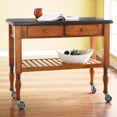 Kitchen Cart ~ Mesa Auxiliar Para La Cocina.