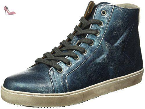 Bisgaard Klettschuhe, Sneakers Basses Mixte Enfant, Blau (600 Blue), 27 EU
