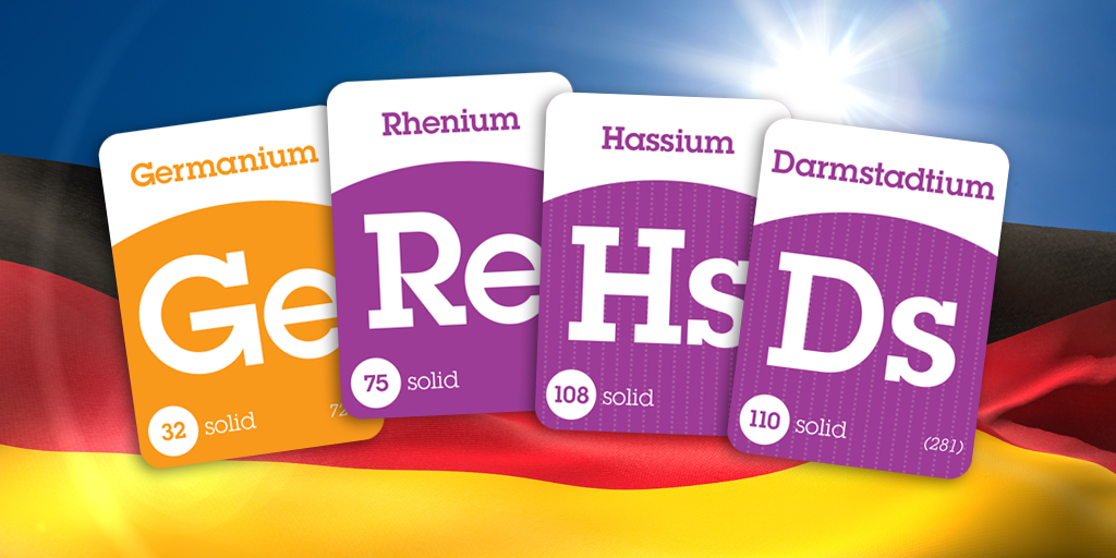 Four Elements Have Names That Refer To Germany Germanium Comes From