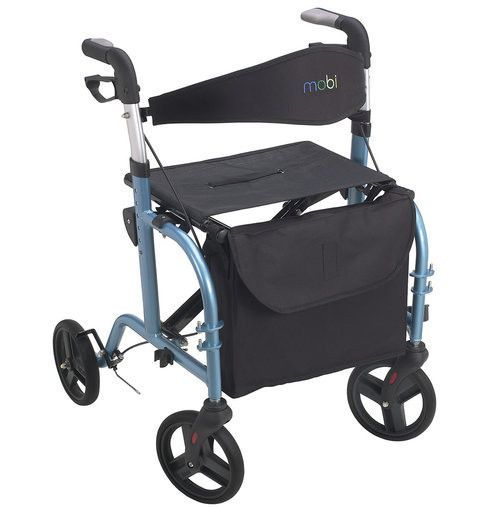 The Mobi Personal Transporter - A Rollator Walker u0026 Transport Chair in One  sc 1 st  Pinterest & The Mobi Personal Transporter - A Rollator Walker u0026 Transport Chair ...