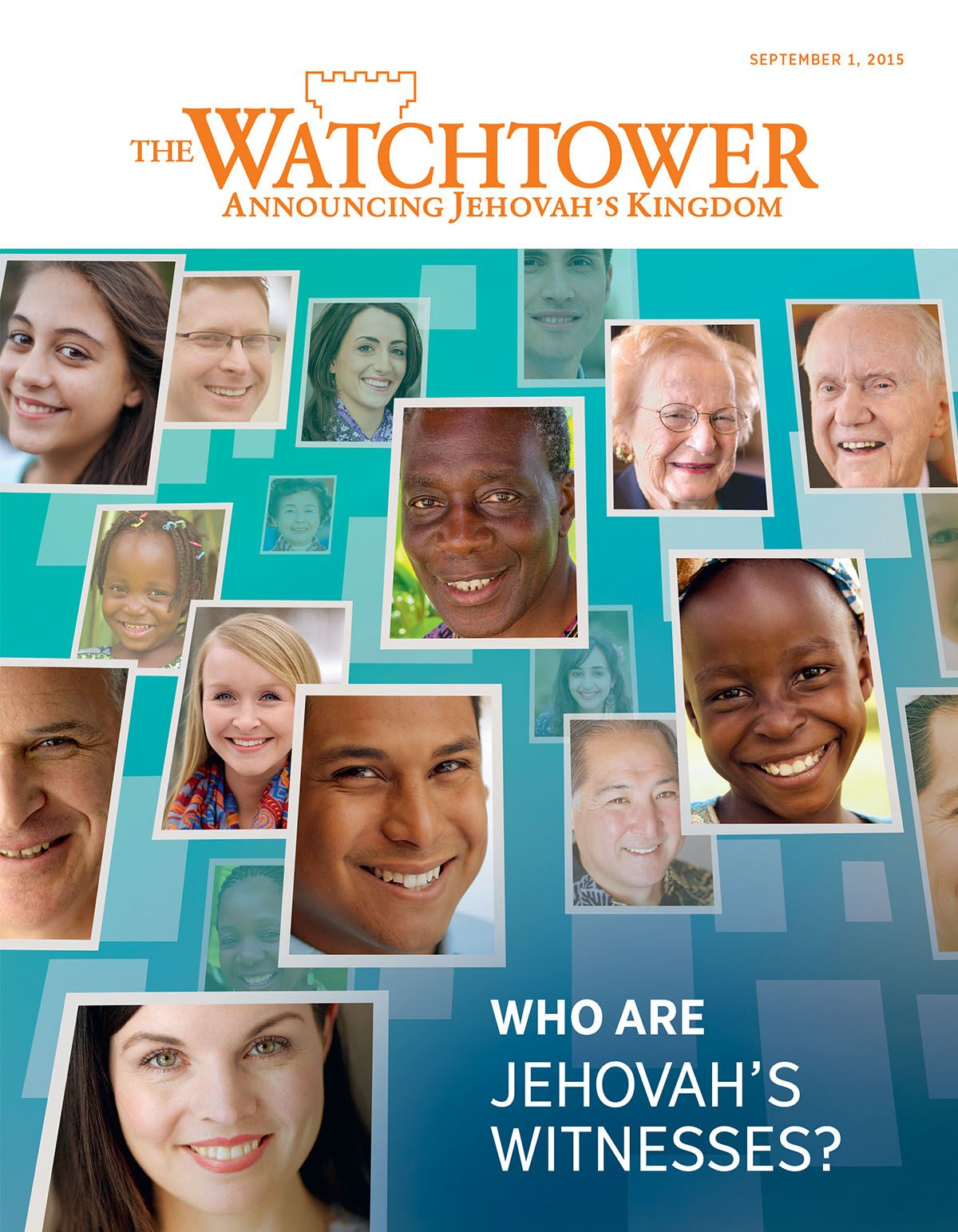 Cover Of The Watchtower Magazine September 2015 Who Are