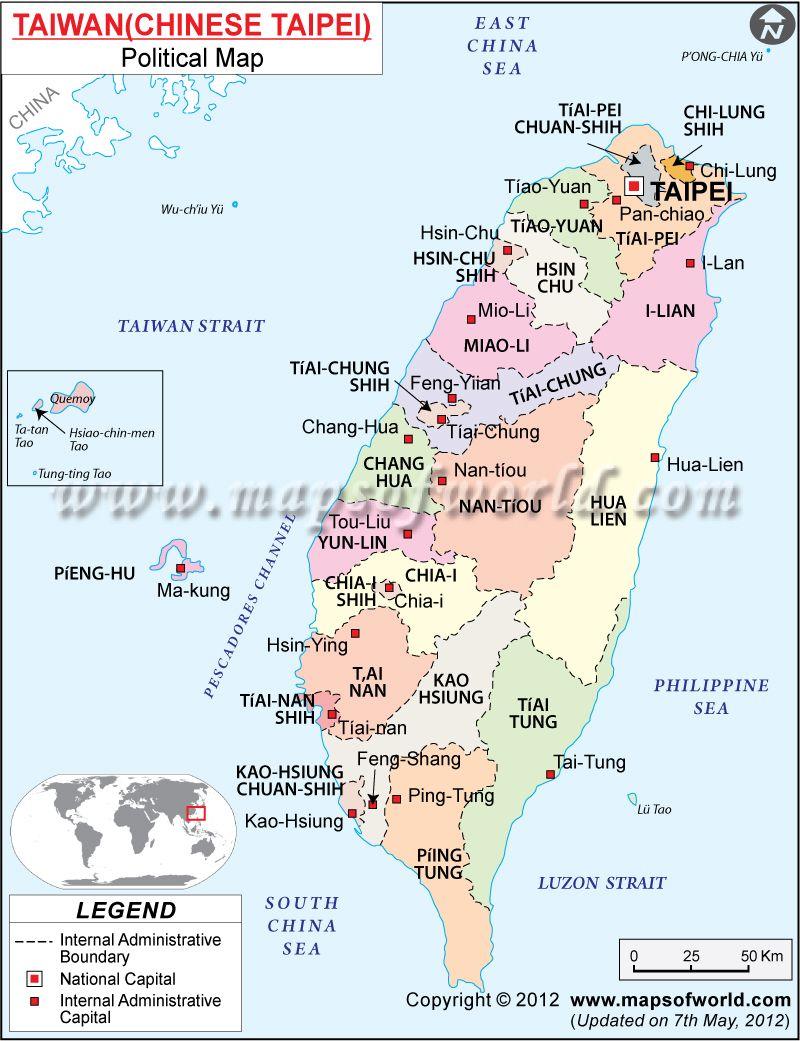 Taiwan mapa taiwan city and asia map de taiwn mapsinspanish gumiabroncs Images