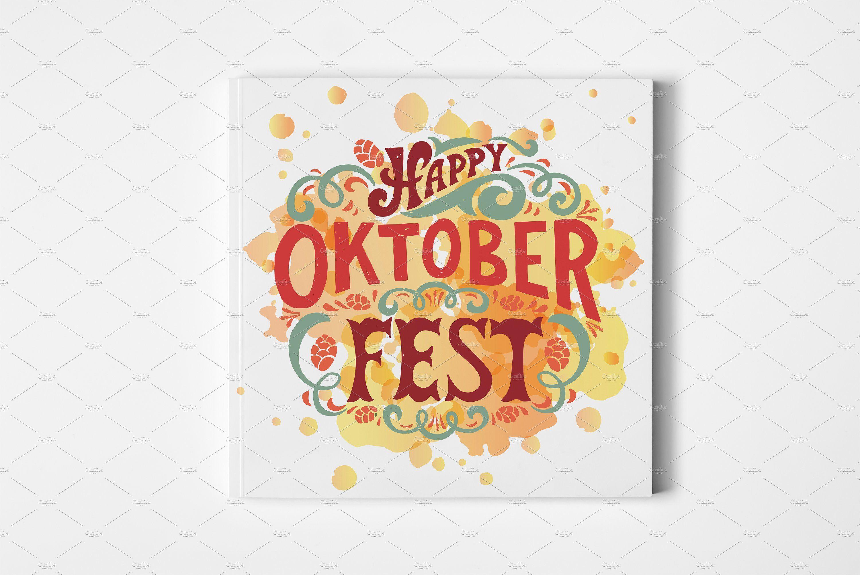 Oktoberfest Lettering Lettering, Freelance graphic