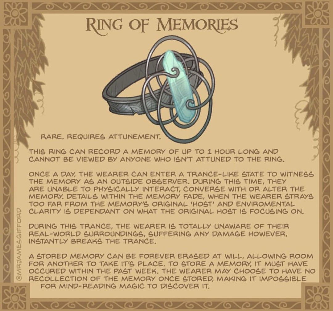 71574e4ef9a63 Awesome ring, reminds me of the Harry potter pensieve. | Game ...