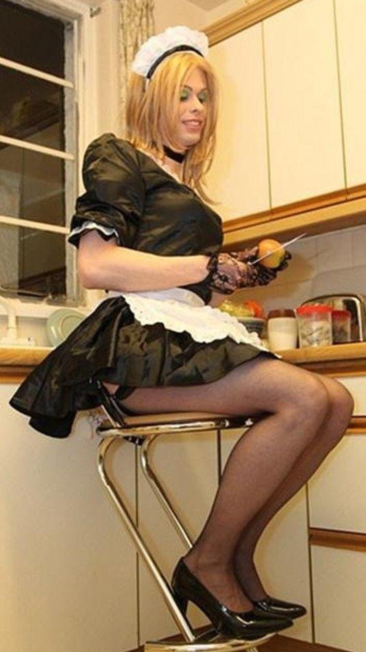 Shemale sissy servant