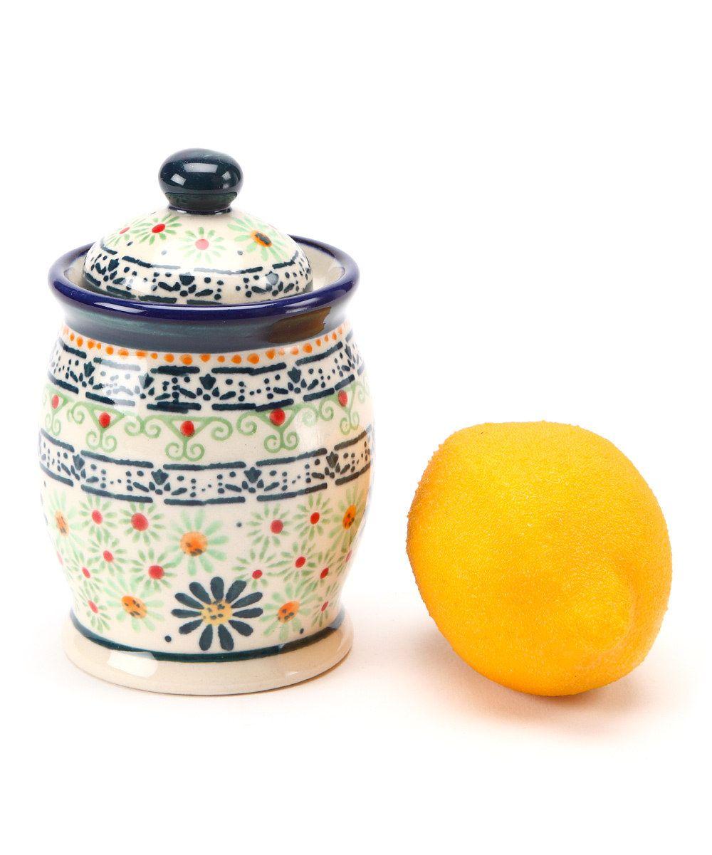 Navy Blue Spice Jar