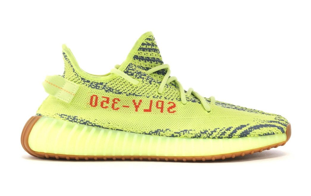 b2ea1445069 Check out the adidas Yeezy Boost 350 V2 Semi Frozen Yellow available on  StockX