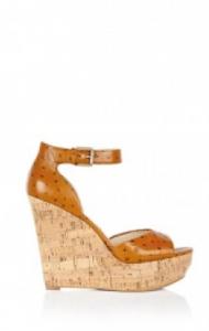 3f17c6acb48a7 Cork shoe sandals by Michael Michael Kors.