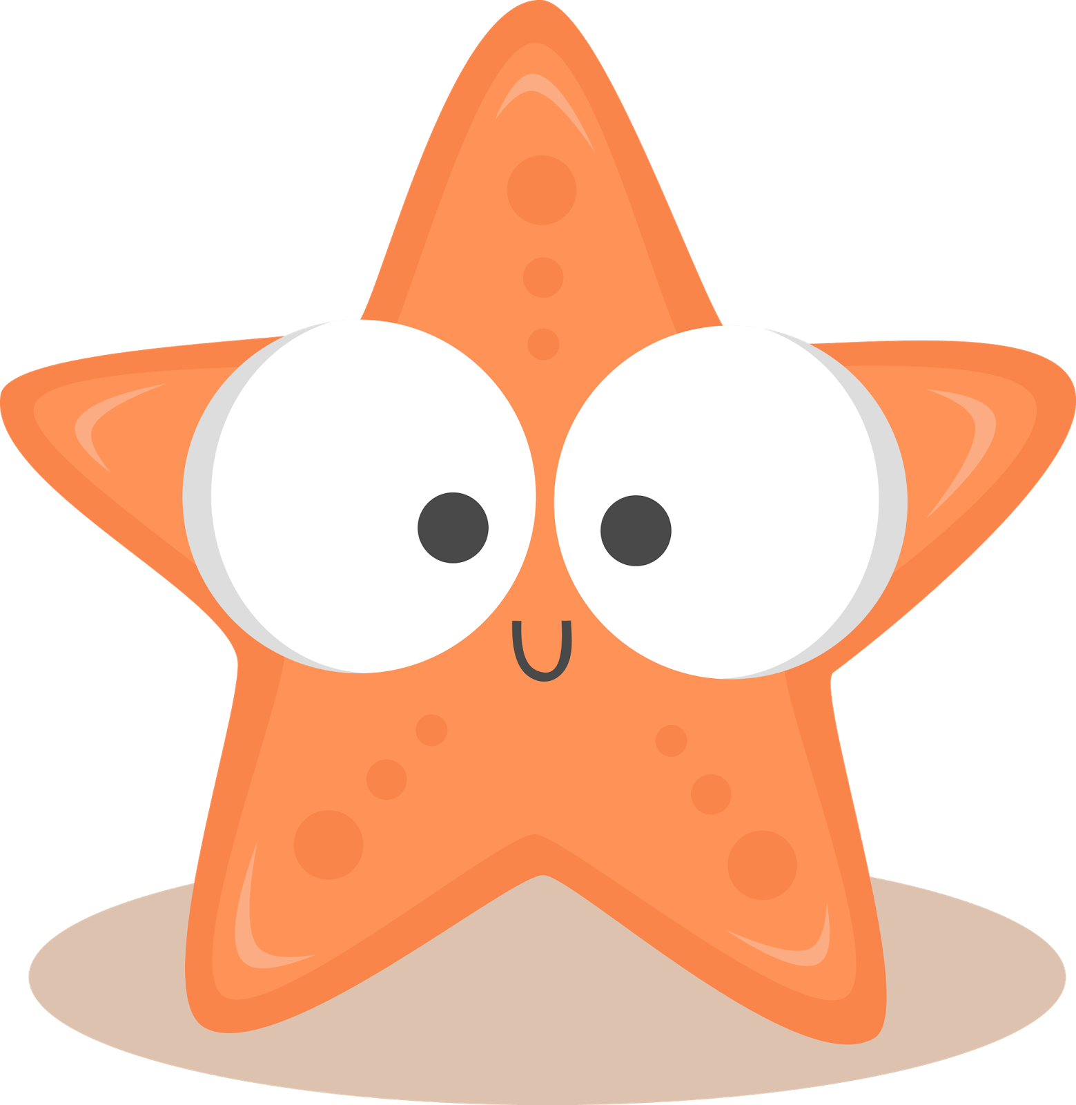 An Inch To Grow On Starfish Drawing Starfish Clipart Clip Art