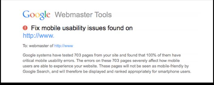 Google advarer hjemmesider som ikke er mobilvennlig - SEO Media Norge