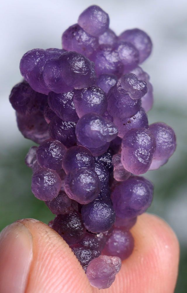 60ct Natural Botryoidal Chalcedony Purple Grape Agate