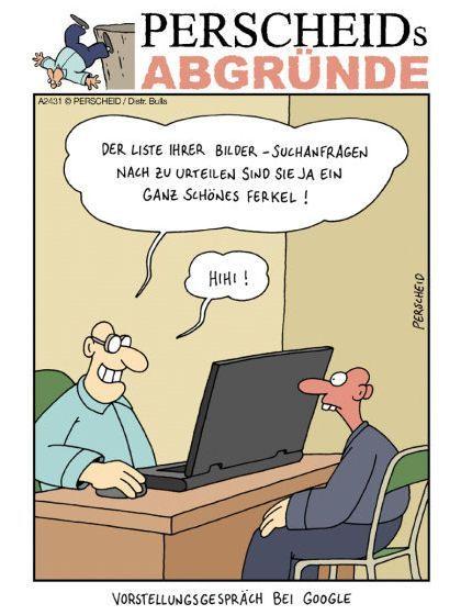 Viel Glück beim Bewerbungsgespräch! - Cartoons - #beim #