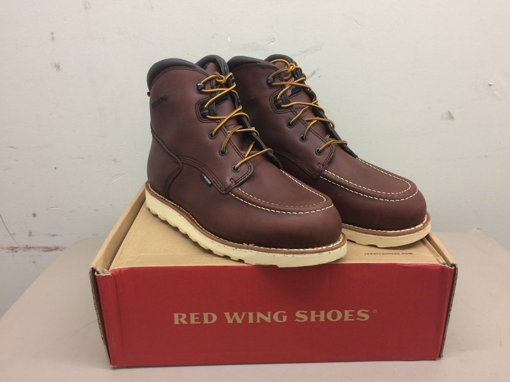 0bd160d795f Men's Red Wing 405 Boots Size 10 EE Brown Waterproof Electrical ...