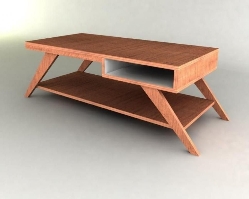 Elegant Furniture: Cool Coffee Table With Classic Design And Still Seem Standard On  Top Is Place