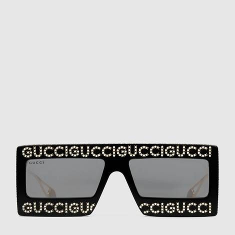 152d7ba225 Mask-frame acetate sunglasses
