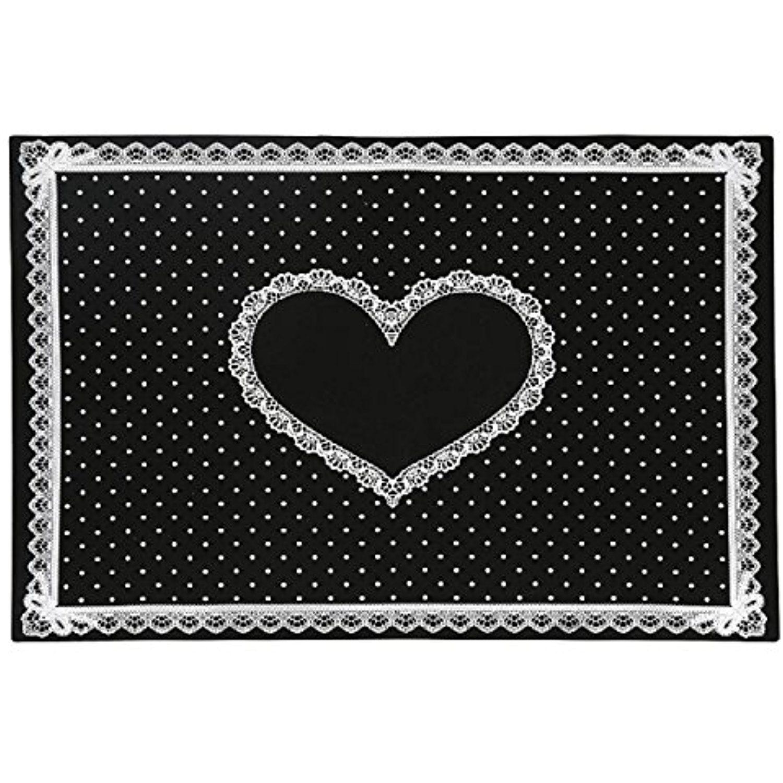 Kingfansion Silicon Lace Polka Dot Heart Pattern Nail Art Table Mat ...