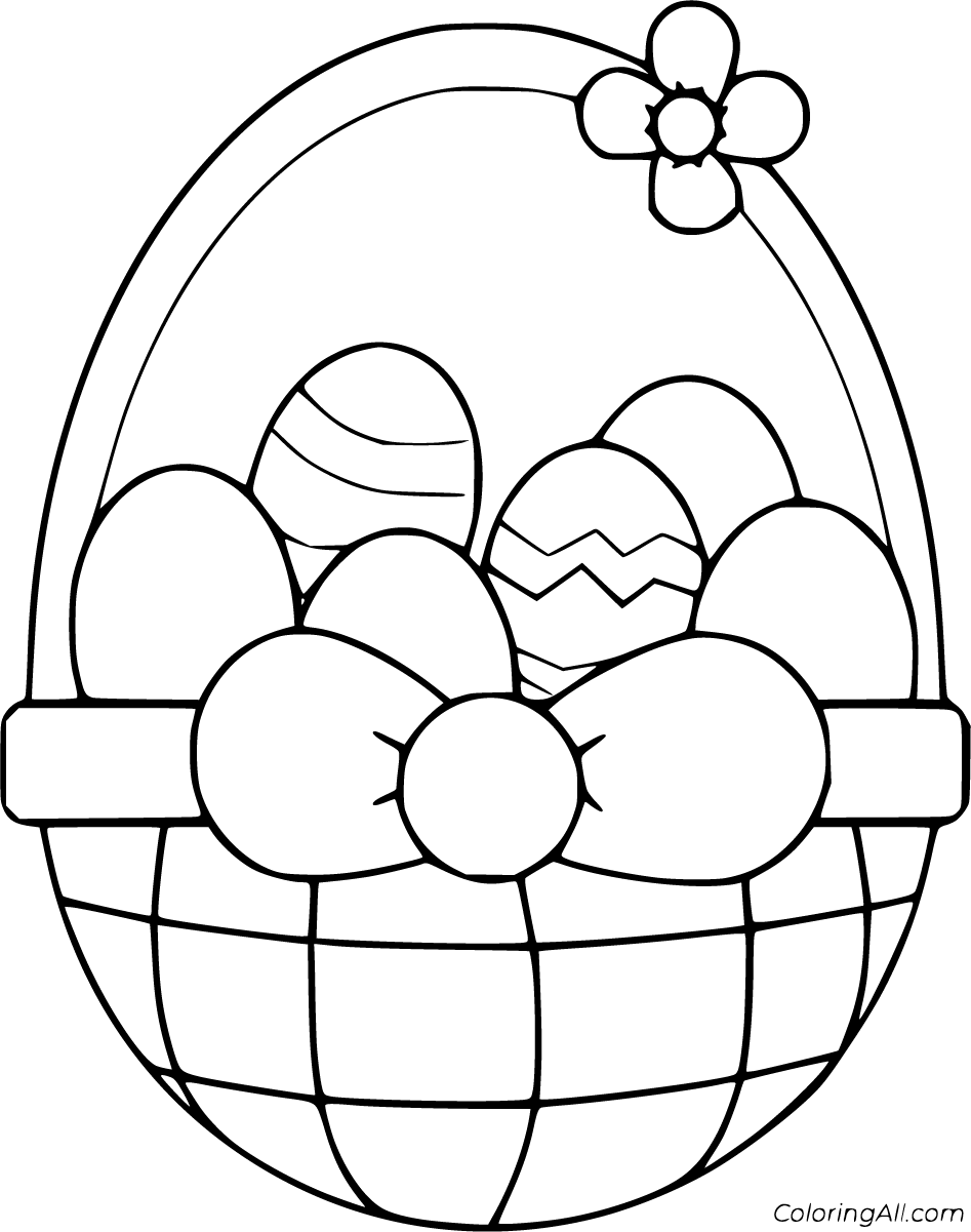 51 Free Printable Easter Basket Coloring Pages In Vector Format Easy To Print From Any Device Bunny Coloring Pages Easter Coloring Book Easter Coloring Pages