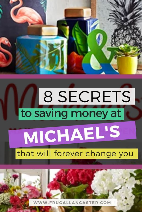 8 secrets to saving money at michaels craft store crafting and 8 secrets to saving money at michaels craft store crafting and diy projects are fun and can supposedly save you money compared to purchasing a piece of solutioingenieria Image collections