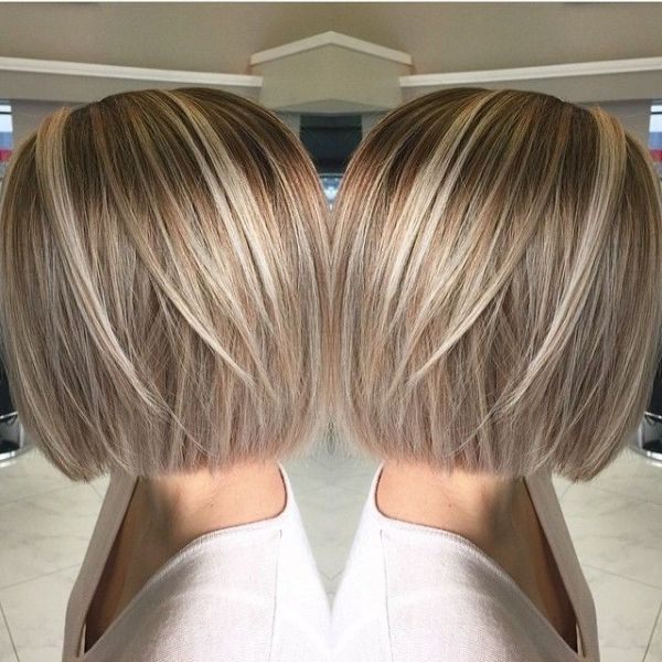 Bob Hairstyles With Blonde Highlights Google Search By Suzette