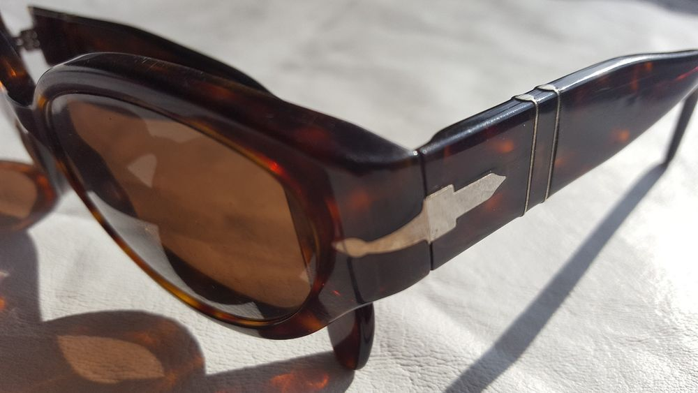 RARE Vintage Persol 2506-S Thick Tortoise Sunglasses Frames Used ...