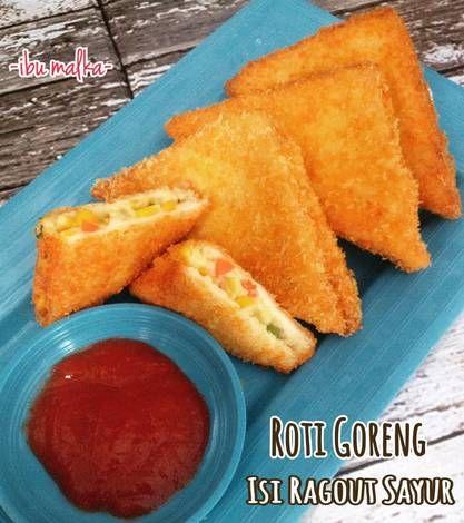 Resep Roti Goreng Isi Ragout Sayur Oleh Ibu Malka Resep Rotis Resep Makanan Resep Sarapan