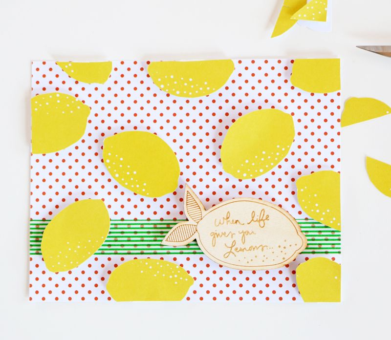 Make a Cute Lemon Card With the Citrus Bliss Collection!   Happy Crafting   Blitsy
