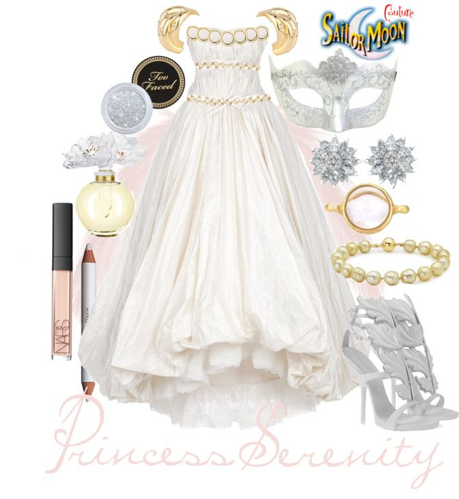 Sailor Moon | Sailor moon wedding dress and bridesmaids | Pinterest ...
