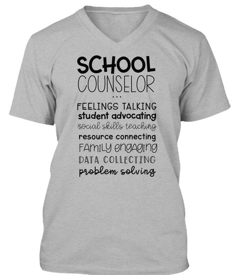 cf121e5bcb School Counselor T-Shirt - The Responsive Counselor Tees -Feelings Talking  Student Advocating Social Skills Teaching Resource Connecting Family  Engaging ...