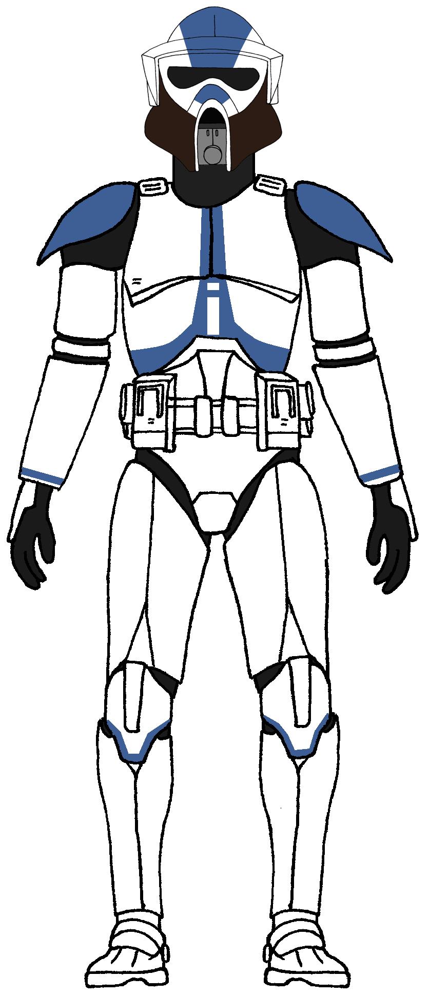 Clone Trooper 501st Legion Arf Trooper 2 Star Wars Clone Wars Star Wars Pictures Star Wars Trooper