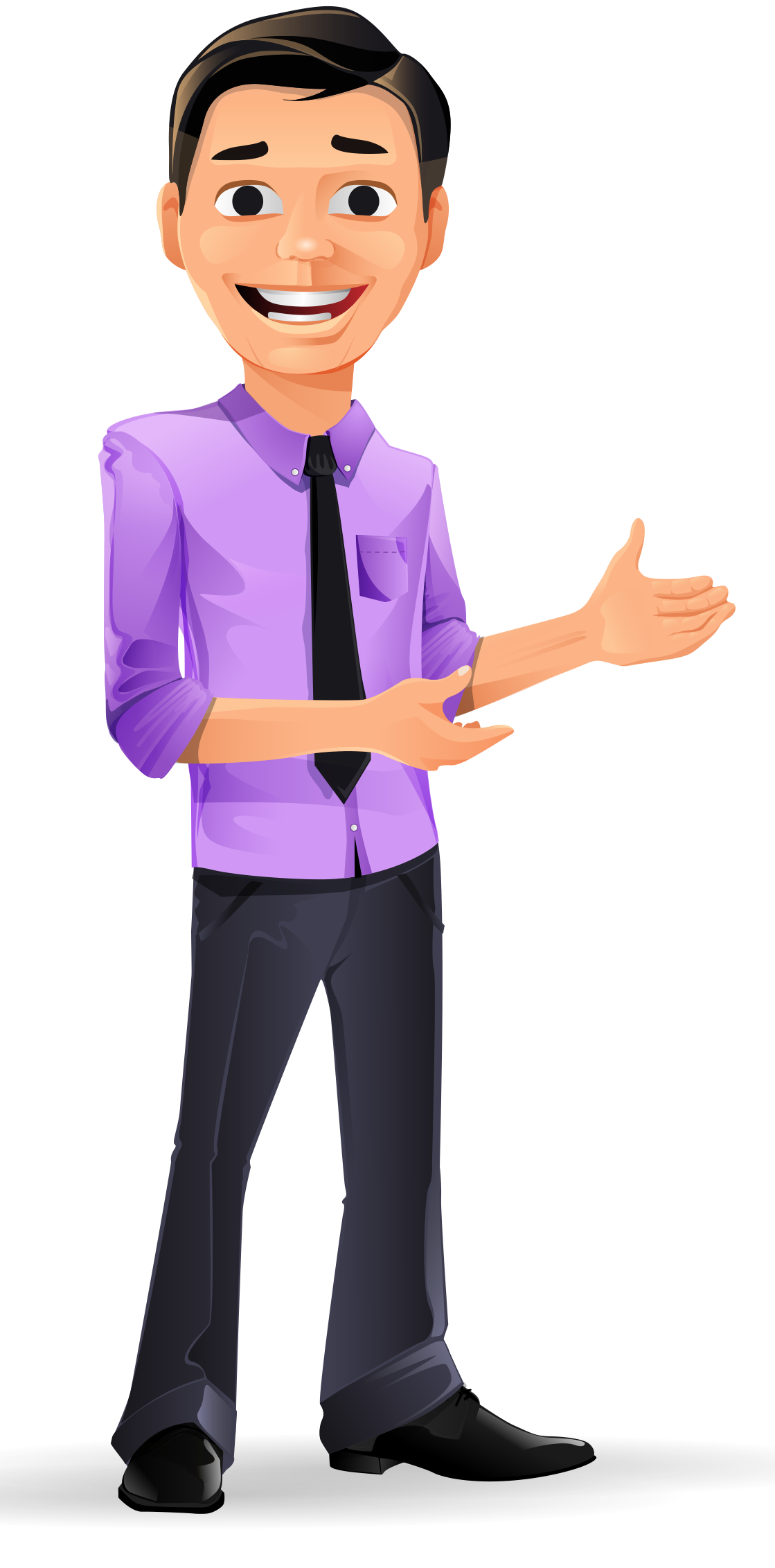 Young Businessman Vector Character… Vector character