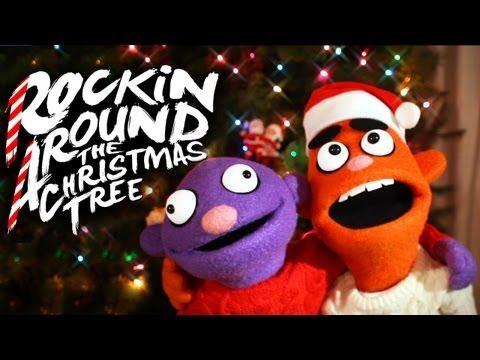 ROCKIN' AROUND THE CHRISTMAS TREE ♫ | Christmas teaching, Xmas songs, Pancake manor