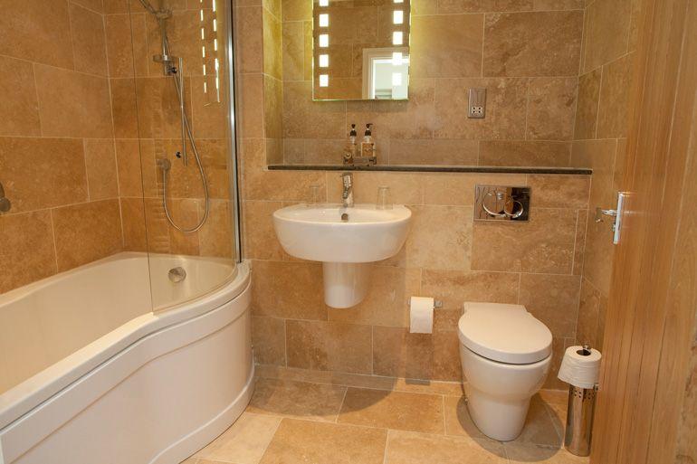 Bathroom Ideas Using Travertine With Travertine Ensuite Bathroom On Bathroom