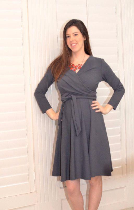 Wanda Wrap Dress Sewing Pattern