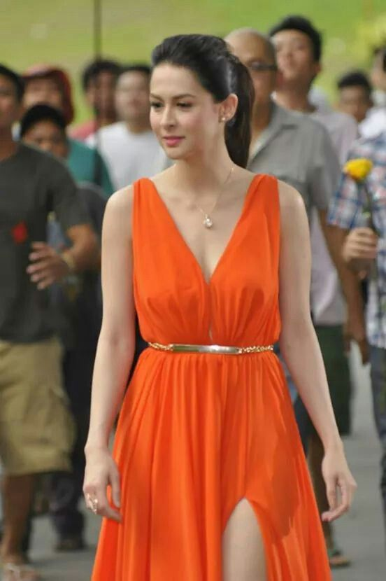 Pinterest Orange Dress