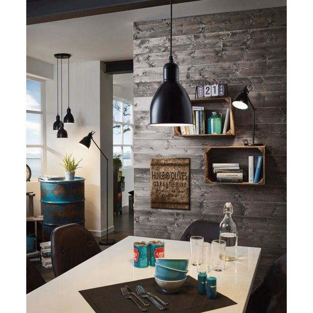 Eglo Priddy Hanglamp Ø 15,5 cm - 1 lamp - afbeelding 2 wall lamps