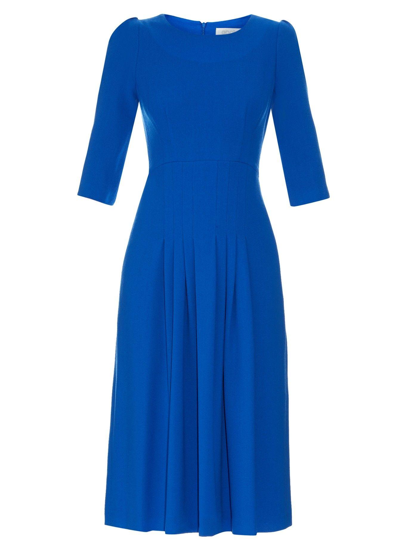 2d1bac4e2a3 Camelot wool-crepe dress
