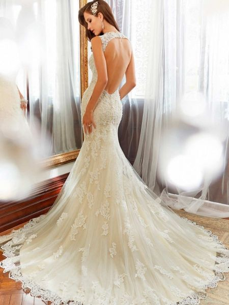 Sophia Tolli lace wedding dresses I love the bottom of this   When ...