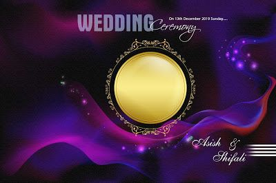 Wedding Album Cover Page Design Psd Vol 02 Free Download