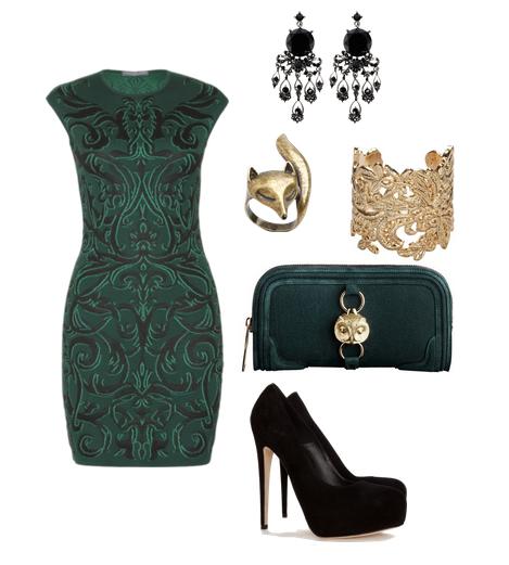 Green barroque.