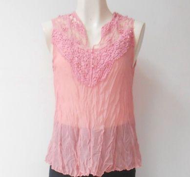 Una #blusa #rosa casual pero muy a la #moda