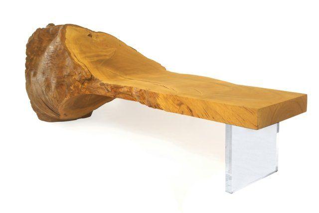 Meubles en bois brut par Tora Brasil - les meubles extraordinaires