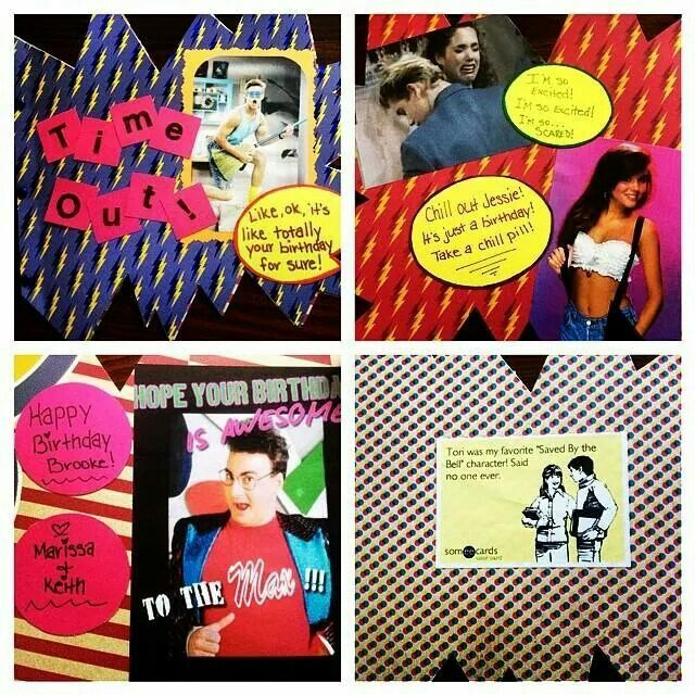 Saved by the bell birthday card gallery birthday cake decoration ideas saved by the bell birthday card for my awesome sister in law my saved by the bookmarktalkfo Image collections