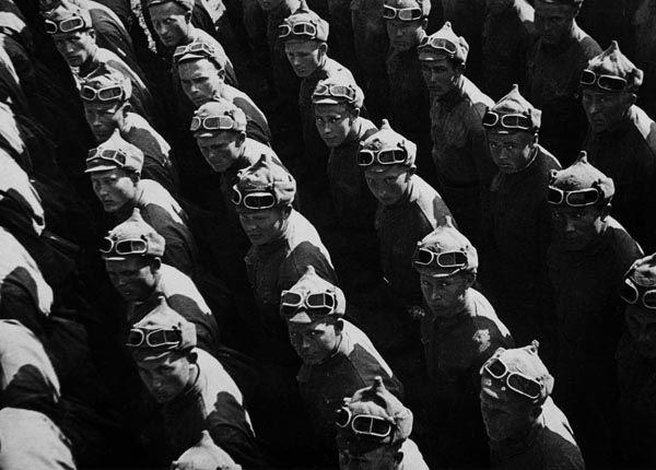 Military Parade, Max Penson, 1935