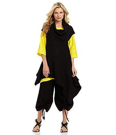 549721d7665 Bryn Walker Noa Linen Tunic #Dillards | Things id love to wear ...
