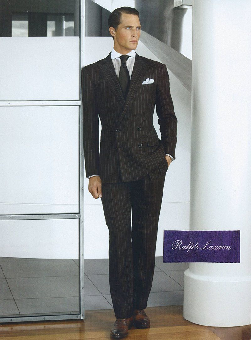 006619b593ab Ralph Lauren´s Purple Label. There s something about a man in a perfectly  fitted suit. Elegantly sexy.